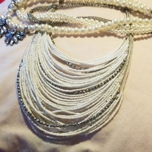 Two Women's Necklaces.